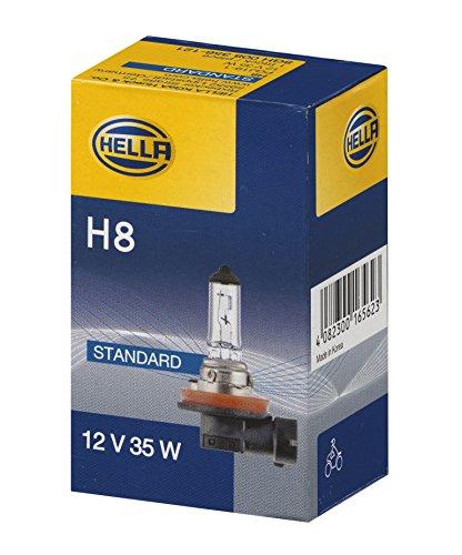 HELLA 8GH 008 356,121 Lámpara , H8 , Standard , 12V , 35W , Tipo de portalámpara: PGJ19,1 , caja , Cant.: 1