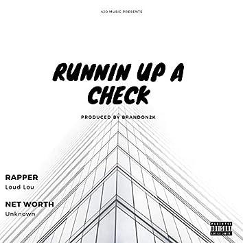 Runnin' Up a Check
