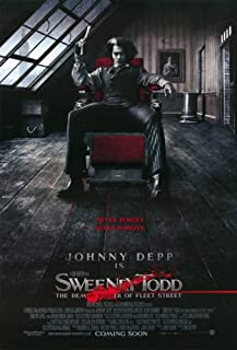 Pop Culture Graphics Sweeney Todd: The Demon Barber of Fleet Street - 11 x 17 - Style B