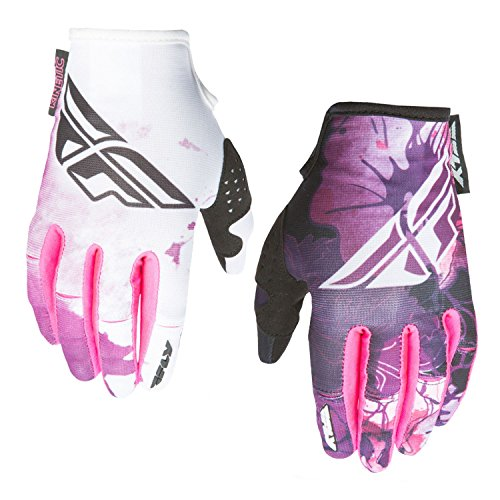 Fly Racing Kinetic Motocross/Mountainbike Handschuhe Lady pink-purple 7