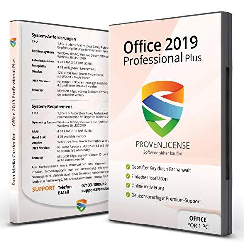 Office 2019 Professional Plus + ISO 32/64 bit + Dauerlizenz + Multilingual + Aktivierungsschlüssel per E-Mail + Kundensupport