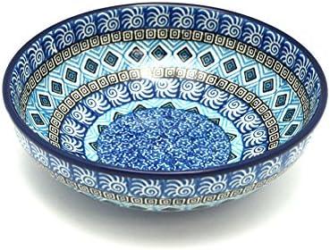 Popular products Polish Brand new Pottery Bowl - Contemporary Salad Aztec Sky