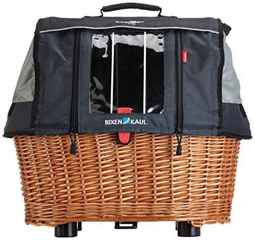 Rixen & Kaul Unisex's GTA Plus Doggy Basket-Brown, 40 L
