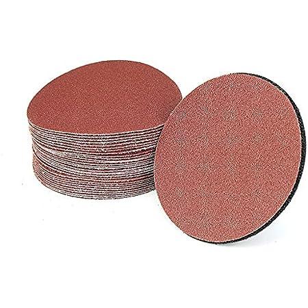 100pcs 3inch Mix Set Sander Disc Sanding Pad Polishing Pad Sandpaper 75mm