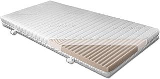 BMM Kindermatratze UpMat für Hoch-Betten, Made in Germany, für Kinder und Jugendliche, KSCell-Schaum, 90x200 cm