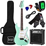 Best Choice Products 39in Full Size Beginner Electric Guitar Starter Kit with Case, Strap, Amp, Whammy Bar -...