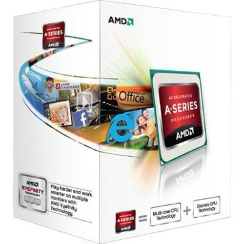 AMD A-Series A4-5300 Dual-core Trinity Prozessor mit AMD Radeon HD 7480D (3,4GHz, 1MB Cache, 65 Watt)