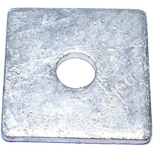 Hard-to-Find Fastener 014973151898 Square Washers, 5/8x 2-1/2 x3/16, Piece-25