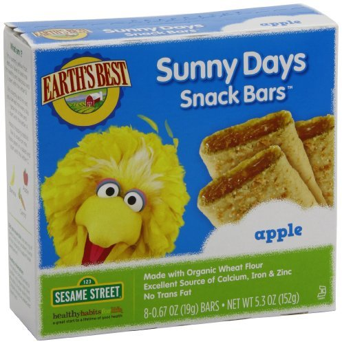 Earth's Best Organic Sunny Days Snack Bars, Apple, 5.3-Ounce Boxes (Pack of 6) Kids, Infant, Child, Baby Products bébé, nourrisson, enfant, jouet