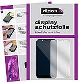 dipos I 6X Schutzfolie klar kompatibel mit Shift Shift6m Folie Bildschirmschutzfolie