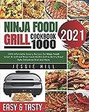 ninja foodi air fry smart xl grill cookbook: 1000...