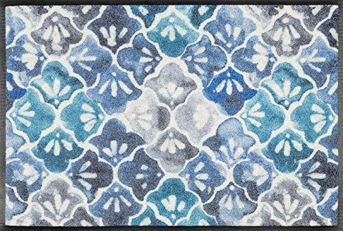 wash + dry Tapis Bleu 50 x 75 cm