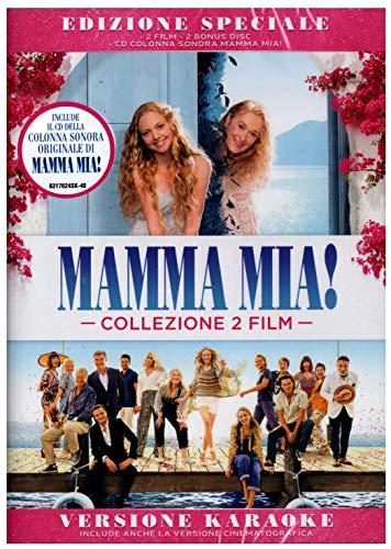 DVD - Mamma Mia! & Mamma Mia! Ci Risiamo - Edizione Speciale 2 Film + Bonus Disc e CD della Colonna Sonora