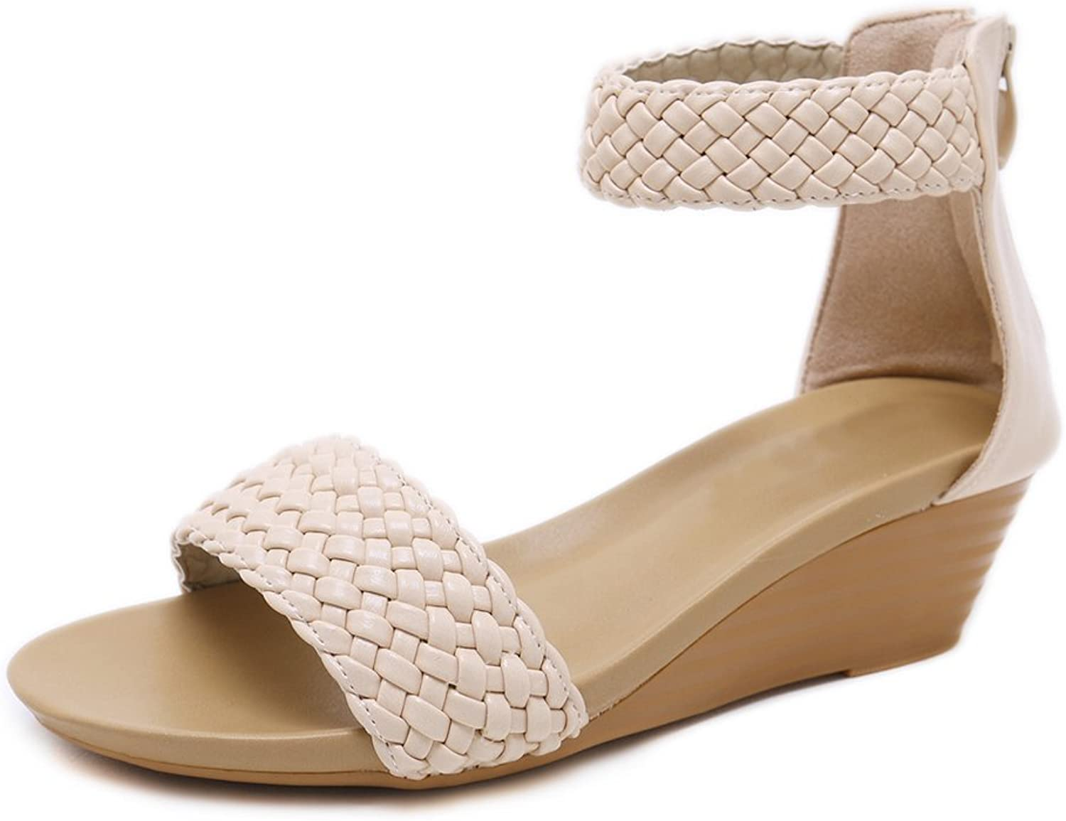 Dreneco Women Roman Wedge Sandals,Summer shoes for Ladies
