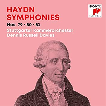 Haydn: Symphonies / Sinfonien Nos. 79, 80, 81