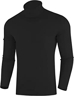 Sponsored Ad - ZIOLOMA Mens Casual Slim Fit Pullover Sweaters Long Sleeve Knitted Turtleneck