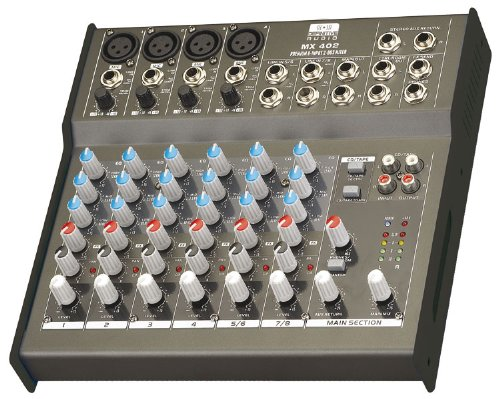Definitive Audio MX 402 Console de mixage Noir