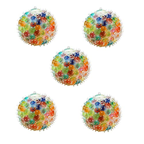 Fidget Toy wuayi Pop It Fidget Toys Stressabbau Squeeze Color Balls DNA Bunte Perlen Weiche Druckbälle Sensitive Stress- und Angstlinderung Squeeze Toys