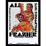 Wee Blue Coo Sport Advert Boxing Thrilla Manila Ali Frazier Fight Philippines Unframed Wall Art Print Poster Home Decor Premium