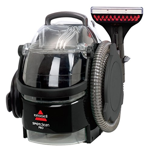 BISSELL SpotClean Pro | Our Most Powerful Portable Carpet Cleaner | Remove Spots, Spills & Stains | Clean Carpets, Stairs,...