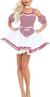 D&M HJML Halloween Maid Costume Uniform Temptation Black Free Size