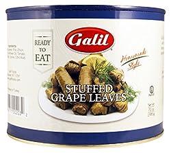 top 10 zergut grape leaves Galeria grape leaf stuffing, 70 oz glass (2 packs)