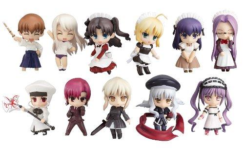 Fate/Hollow ataraxia Petit Nendoroid figurines (Display of 12)