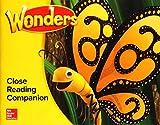 Wonders Close Reading Companion, Grade K (ELEMENTARY CORE READING)