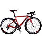 SAVADECK Phantom 8.0 700C Bicicleta de Carretera con Fibra de Carbono para Bicicletas con...