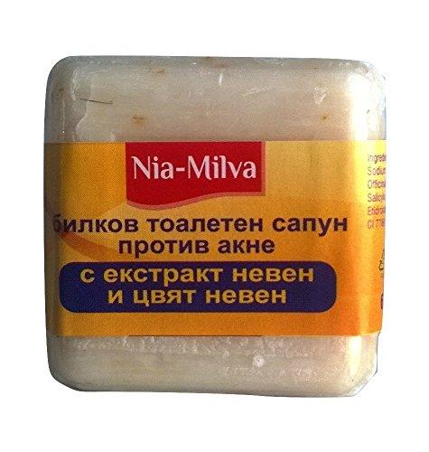 Anti acné jabón ácido salicílico Calendula Extracto Anti Pimple de puntos negros puntos 60G