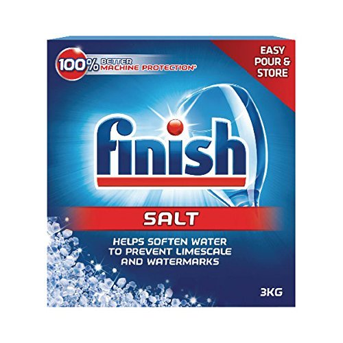 Finish Dishwasher Detergent Salt, 3 KG