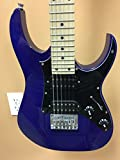 Ibanez 6 String Solid-Body Electric Guitar, Right, Jewel Blue (GRGM21MJB)