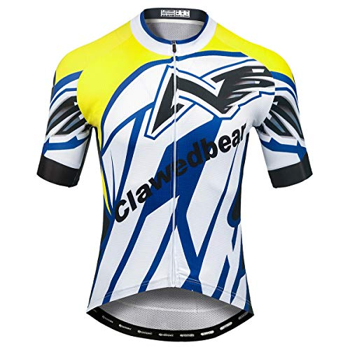 Panegy Camisetas Manga Corta Hombre Maillot Ciclismo Verano de Secado Rápido Jersey...