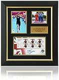 Alistair Brownlee Sello FDC Firmado a Mano, presentación de los Juegos Olímpicos de Londres 2012