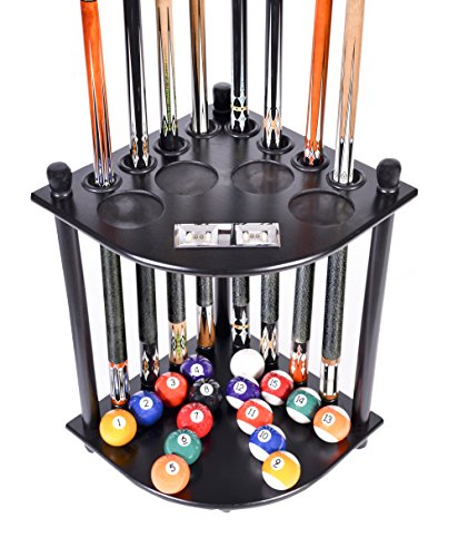 Cue Rack Only - 8 Pool Billiard Stick & Ball Floor Stand...