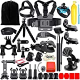 Appolab Accessori Kit Per GoPro, Compatibile con Hero 7 6 5 4 3 2...