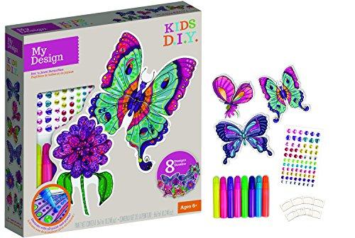 Orb Factory ORB75415 - Loisirs Créatifs - Papillons Peinture 3D - My Design