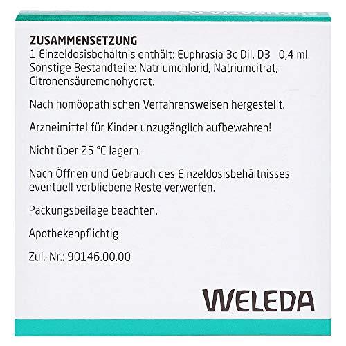 Euphrasia D 3 Einzeldosen 10X0.4 ml - 2