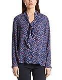 Marc Cain Collections Damen MC 51.10 W05 Bluse, Violett (Blue Violet 751), 42 (Herstellergröße: 5)