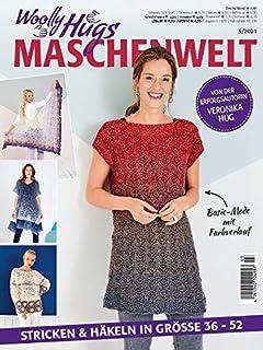 Woolly Hugs Maillwelt 3/2021 Tricoter et crochet en taille 36-52 – Mode basique avec dégradé de couleur