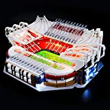 BRIKSMAX Led Lighting Kit for Old Trafford - Manchester United - Compatible with Lego 10272 Building Blocks Model- Not Include The Lego Set