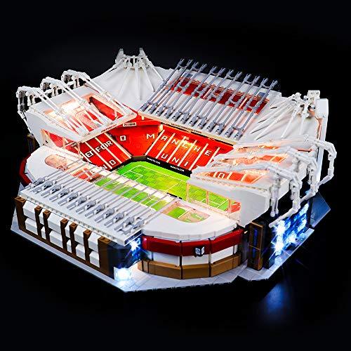BRIKSMAX Led Beleuchtungsset für Lego Old Trafford Manchester United Stadion,Kompatibel Mit Lego 10272 Bausteinen Modell - Ohne Lego Set