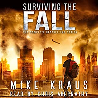 Surviving the Fall Box Set     The Complete Surviving the Fall Series, Books 1-12              By:                                                                                                                                 Mike Kraus                               Narrated by:                                                                                                                                 Chris Abernathy                      Length: 29 hrs and 46 mins     15 ratings     Overall 3.8