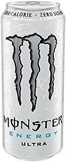 Monster Energy Ultra azúcar 500ml gratuito (paquete de 12 x 500 ml)