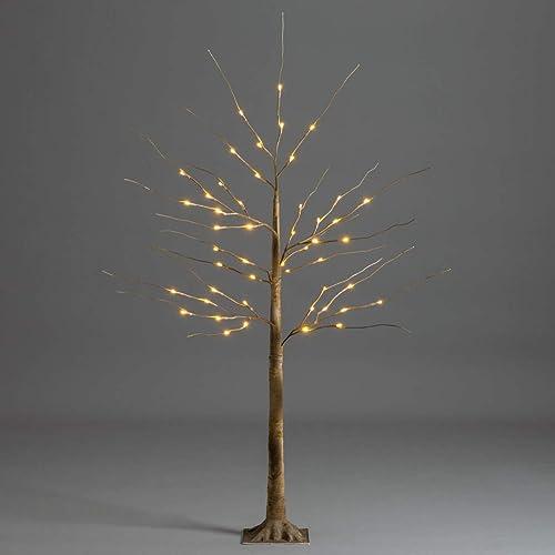 Large 5ft Pre-Lit Light up 200 LED Tree Christmas