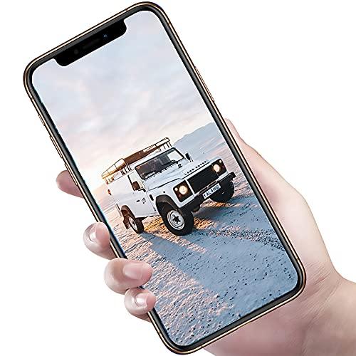 YouthRM Teléfonos Celulares Desbloqueados Android 9.1 4G X20pro Pantalla Completa IPS de 6.5 Pulgadas, 8GB RAM 512GB ROM, 8MP + 16MP, 4800mAh (Dar una Tarjeta de Memoria de 128G)