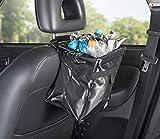 PEARL Auto Mülleimer: 2er-Set Camping- & Kfz-Falt-Müllbehälter, verschließbar, 10 l (Faltbarer Kfz Müllbehälter) - 5