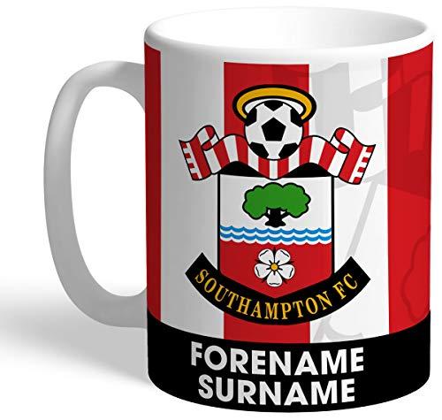 Southampton Personalised FC Bold Crest Mug