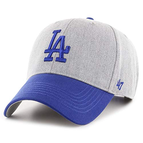 \'47 Unisex MLB Los Angeles Dodgers Palomino Tt Snap MVP Baseballkappe, Grey, One Size