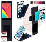 Hülle für Oppo R5s Tasche Cover Case Bumper | Blau |